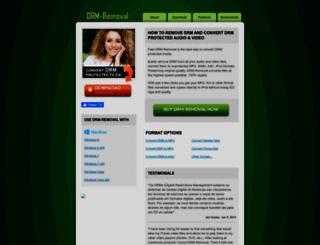 drm-removal.com screenshot