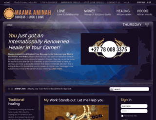 drmaamaaminah.com screenshot