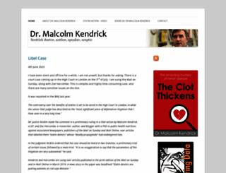 drmalcolmkendrick.org screenshot