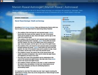 drmanishrawatastrologer.blogspot.in screenshot