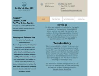 drmarkaallendds.com screenshot