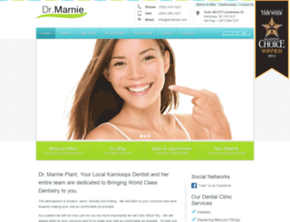 drmarnie.com screenshot