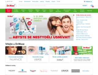 drmax-lekarna.cz screenshot