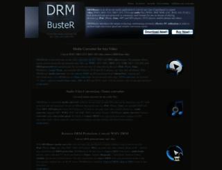 drmbuster.com screenshot