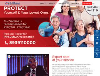 drmohansdiabetes.com screenshot