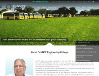 drnnce.ac.in screenshot