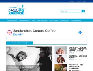 drogapozdrowie.pl screenshot