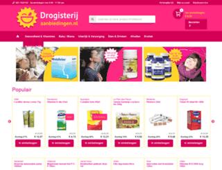 drogisterijaanbiedingen.nl screenshot