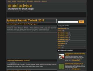 droid-advisor.com screenshot