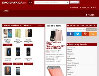 droidafrica.com screenshot