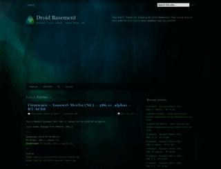 droidbasement.com screenshot