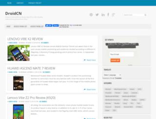 droidcn.blogspot.fi screenshot