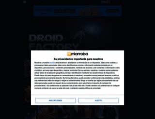 droidfactory.mforos.com screenshot
