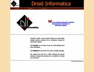 droidinfo.com screenshot