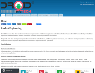 droidinfotech.com screenshot