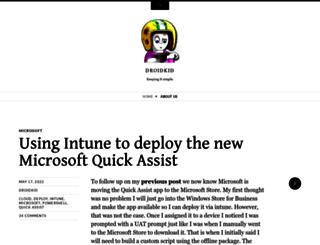 droidkid.net screenshot