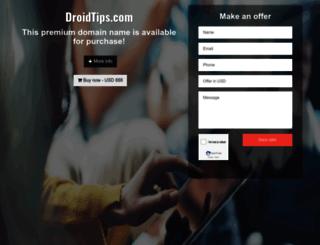 droidtips.com screenshot