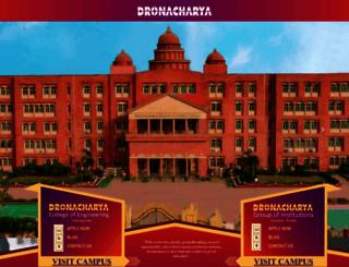 dronacharya.info screenshot