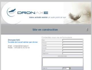 dronaxe.fr screenshot