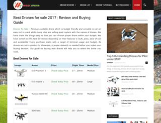 drone.weararena.com screenshot