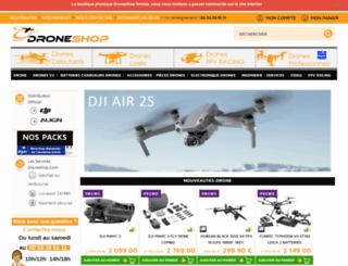 droneshop.com screenshot