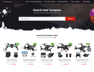 dronesplus.com screenshot