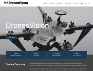 dronesvision.com screenshot