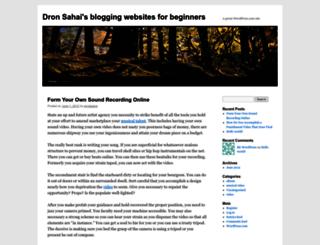 dronsahai.wordpress.com screenshot
