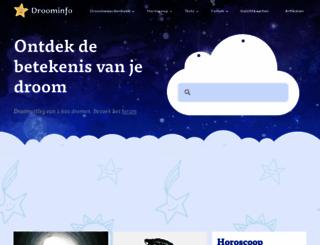 droominfo.nl screenshot