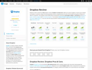 dropbox.knoji.com screenshot