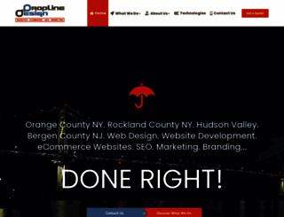 droplinedesign.com screenshot