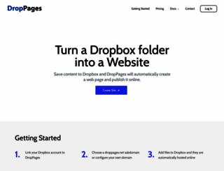 droppages.com screenshot