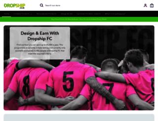 dropship.co.uk screenshot