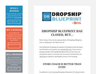 dropshipblueprint.com screenshot