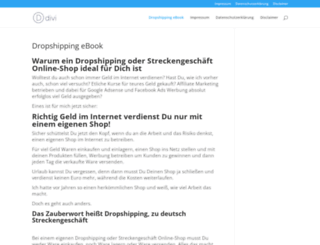 dropshipping-von-a-z.de screenshot