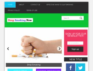 dropsmokingnow.com screenshot