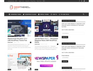 dropthemes.in screenshot