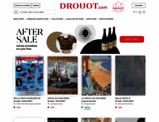 drouot.com screenshot