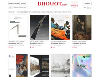 drouotlive.com screenshot