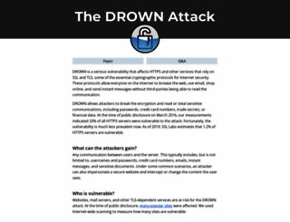 drownattack.com screenshot