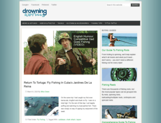 drowningworms.com screenshot