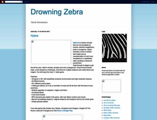 drowningzebradev.blogspot.com screenshot