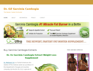 droz-garciniacambogia.com screenshot