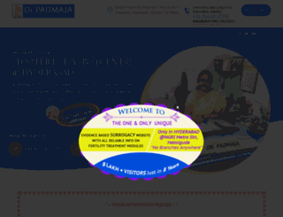 drpadmajaivf.com screenshot