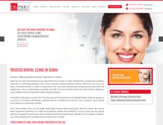 drpaulsme.com screenshot