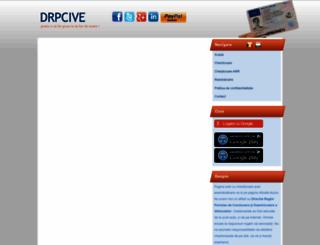 drpcive.ro screenshot