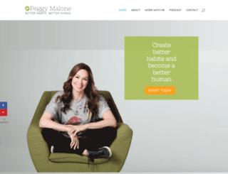 drpeggymalone.com screenshot