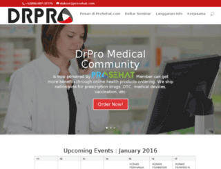 drproapp.com screenshot