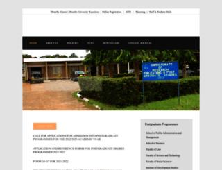 drps.mzumbe.ac.tz screenshot