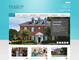 drreagin.com screenshot